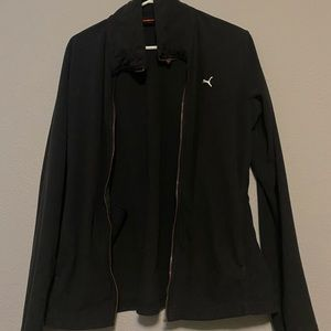 All Black Puma Sweater!!